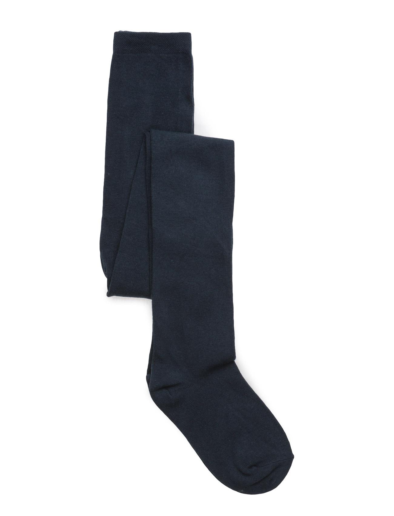 Image of Tight, Plain Colour Girls Socks & Tights Tights Blå MELTON (2382480777)