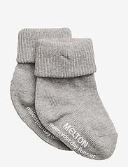 Sock ABS Anti-Slip - 135/LIGHT GREY MELANGE
