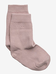 Melton - Sock , plain colour - skarpetki - 507 / alt rosa - 0