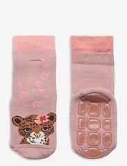 Melton - Maddie socks with anti-slip - skarpetki antypoślizgowe - rose - 0