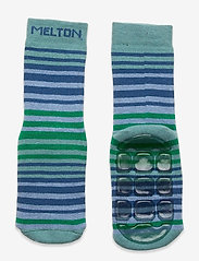 Melton - Willow socks with anti-slip - skarpetki antypoślizgowe - blue - 0