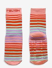 Melton - Willow socks with anti-slip - skarpetki antypoślizgowe - rose - 0