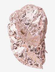 Melton - Hat w/neck & ties w/print - kapelusz przeciwsłoneczny - rose - 1