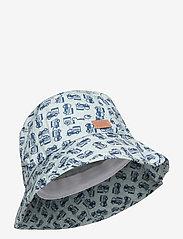 Melton - Bucket Hat w/print - kapelusz przeciwsłoneczny - blue - 0