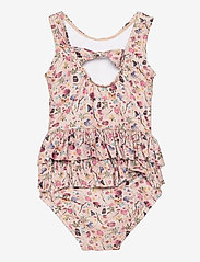 Melton - UV Swimsuit Flower - swimsuits - rose - 1