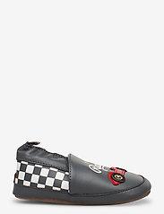 Melton - Leather Shoe - Race - tossut - dark charcoal grey - 1