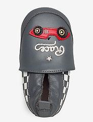 Melton - Leather Shoe - Race - tossut - dark charcoal grey - 3