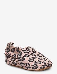 Melton - Leather Shoe - Leopard - domowe - alt rosa - 0