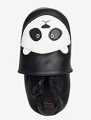 Melton - Leather Shoe - Panda - schuhe - black - 3
