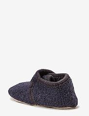 Melton - Wool soft shoe w/velcro - buty - 189/antrazite - 1
