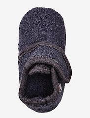 Melton - Wool soft shoe w/velcro - buty - 189/antrazite - 2