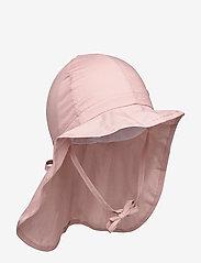 Melton - Hat w/neck & ties - Solid - kapelusz przeciwsłoneczny - alt rosa - 0