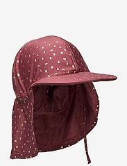 Melton - UV Swim Hat Gold - solhat - rose brown - 0
