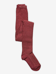 Melton - Bamboo Tights w. Lurex Solid C - rajstopy - brown - 0