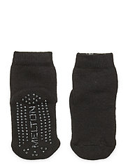 ABS Terry Sock - Let's Go - BLACK