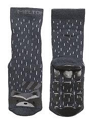 ABS Sock Terry - Racoon - MELANGE TAHITI