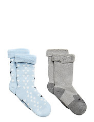 TERRY 2-pk Baby Sock - Boys - LIGHT BLUE