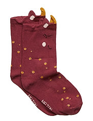 BABYSOCK - Unicorn - DARK PLUM