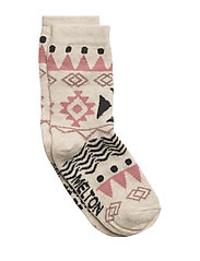 Sock - Tribal w/Lurex - NATURE MELANGE