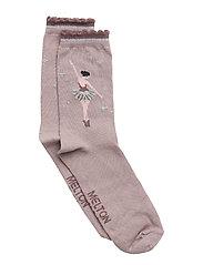 Sock - Ballerina w/Lurex - QUAIL