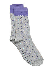 Sock - Sprinkle - LIGHT GREY MELANGE
