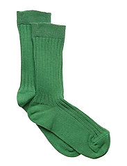 Sock All Size - Rib Basic - FORREST GREEN
