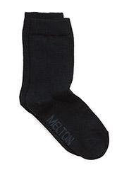 Sock , plain colour - 285/MARINE
