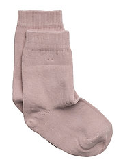 Sock , plain colour - 507 / ALT ROSA
