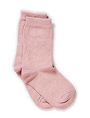 Sock , plain colour - 509/WILD ROSE