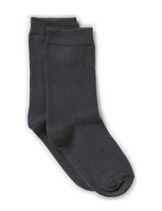 Sock , plain colour - 155/GRAPHITE GREY