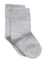 Basic Sock - PEARL GREY MELANGE 130