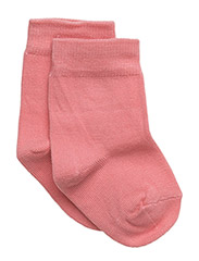 Basic Sock - 616/SALMONROSE