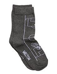 Sock - Soccer Field - DARK GREY MELANGE