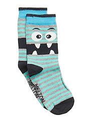 Sock - Monster - LIGHT GREY MELANGE