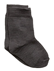 Classic, Basic Wo/Co Sock - 180/DARK GREY MELANGE