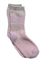 Wool - Sock Girly w/Lurex - ALT ROSA