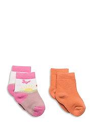 Andrea 2-pack Socks - ROSE