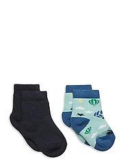 George 2-pack socks - BLUE