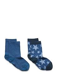 Max 2-pack socks - BLUE