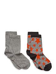 Max 2-pack socks - GREY