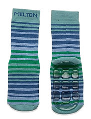Willow socks with anti-slip - BLUE