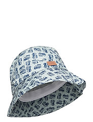 Bucket Hat w/print - BLUE
