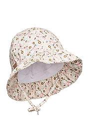 Bell Hat w/print - ROSE
