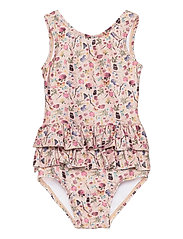 UV Swimsuit Flower - ROSE