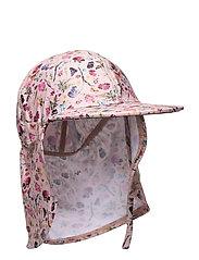 UV Swim Hat Flower - ROSE