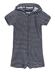 UV Swim Boy Suit Stripe - BLUE