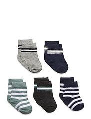 5-Pack Socks - Boys - GREY