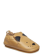 Luxury Leather Shoe - Dog - CAMEL