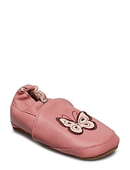 Leather Shoe - Butterfly Slippers Inneskor Rosa MELTON