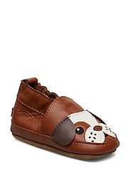 LEATHER Shoe - Bulldog - LEATHER BROWN